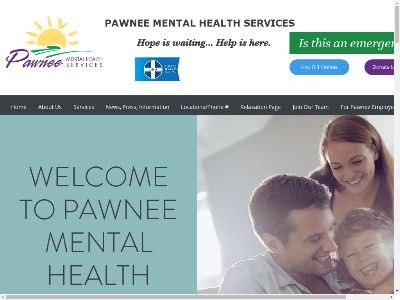 Pawnee Mental Health Services 210 West 21st Street