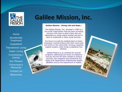 Galilee Mission Inc 268 Kingstown Road