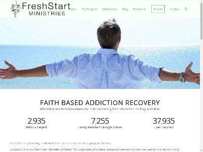 Fresh Start Ministries Of Central FL 4436 Edgewater Drive