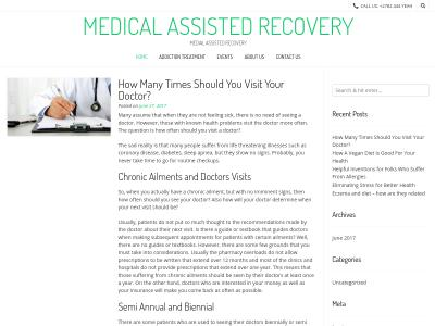 Medical Assisted Recovery Inc 875 Centerville Road