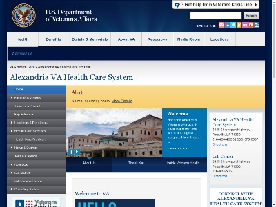 Alexandria VA Healthcare System 2495 Shreveport Highway