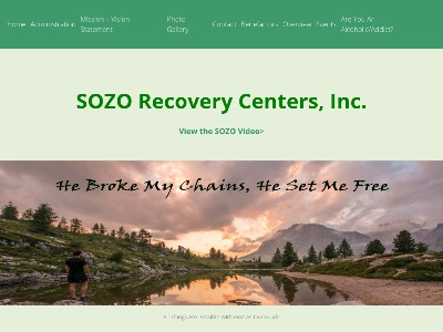 SOZO Recovery Center Inc 243 Nathan Terrace
