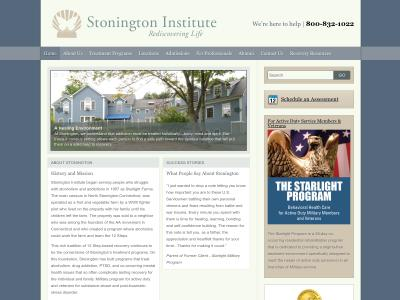 Stonington Institute 75 Swantown Hill Road