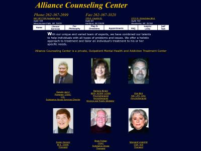 Alliance Counseling Center LLC 155 East Capitol Drive