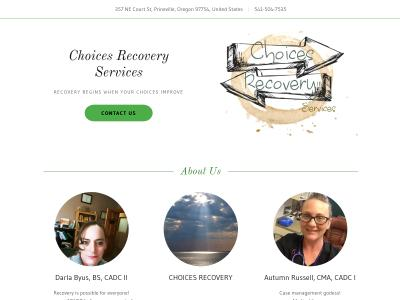 Choices Recovery Services LLC 357 NE Court Street